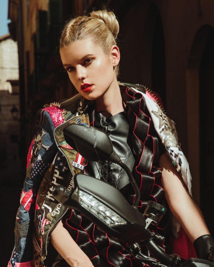 Model Franziska Holzer Beauty Shooting 4