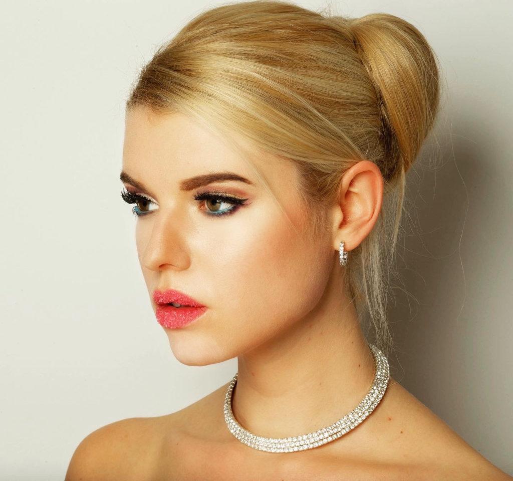 Model Franziska Holzer Face Shooting 13