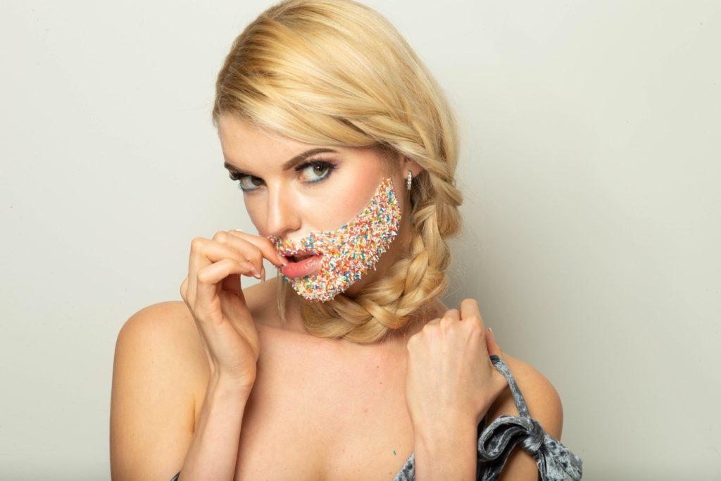 Model Franziska Holzer Face Shooting 16