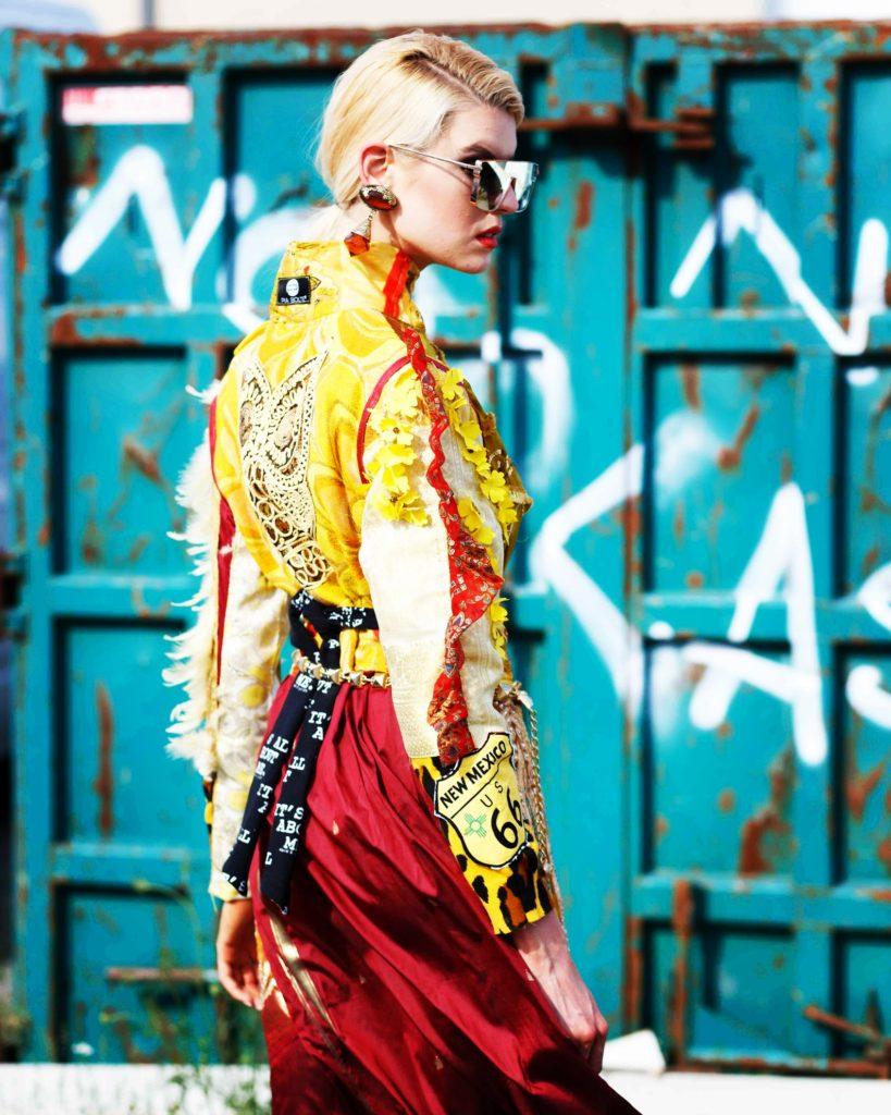 Model Franziska Holzer Fashion Shooting Pia Bolte 1