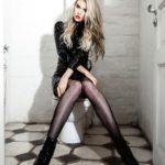 Model Franziska Holzer Leather Shooting 7