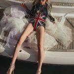 Model Franziska Holzer Pia Bolte boat shooting 12