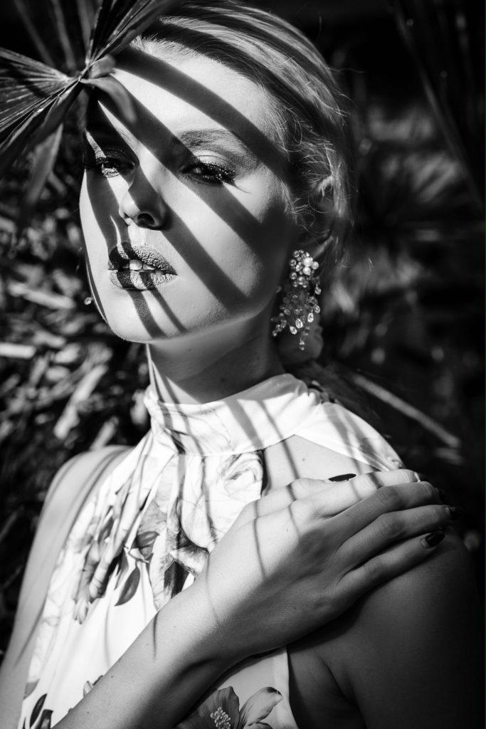 Model Franziska Holzer blackwhite Shooting 6